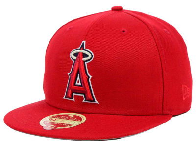 Los Angeles Angels New Era MLB Wool Classic 59FIFTY Cap
