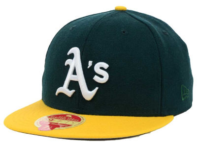 Oakland Athletics New Era MLB Wool Classic 59FIFTY Cap