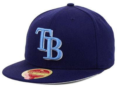 Tampa Bay Rays New Era MLB Wool Classic 59FIFTY Cap