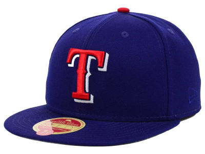Texas Rangers New Era MLB Wool Classic 59FIFTY Cap
