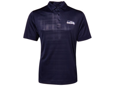 Seattle Seahawks NFL Drytec Sullivan Embossed Polo