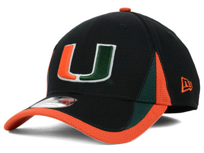 Miami Hurricanes New Era NCAA Training Classic 2 39THIRTY Cap