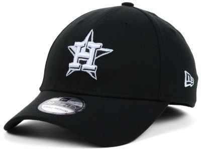 Houston Astros New Era MLB Black White Classic 39THIRTY Cap