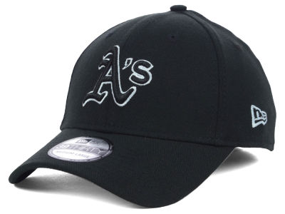 Oakland Athletics New Era MLB Black White Classic 39THIRTY Cap