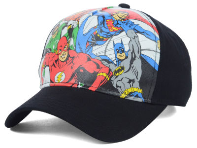 DC Comics DC All Comic Youth Adjustable Cap