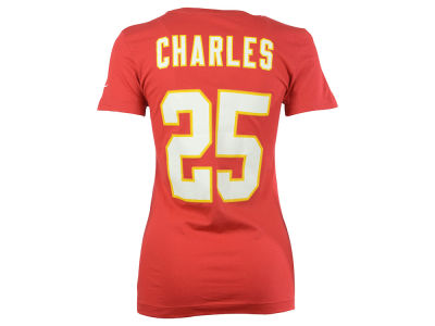 Kansas City Chiefs Jamaal Charles Nike NFL Womens Player Pride T-Shirt