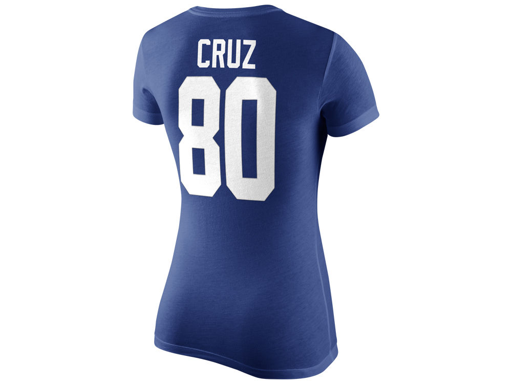 wholesale dealer fae85 f82a8 New York Giants Victor Cruz Nike NFL Women's Player Pride T-Shirt