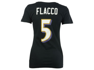 Baltimore Ravens Joe Flacco Nike NFL Womens Player Pride T-Shirt