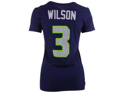 Seattle Seahawks Russell Wilson Nike NFL Womens Player Pride T-Shirt