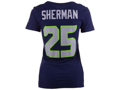Seattle Seahawks Richard Sherman Nike NFL Womens Player Pride T-Shirt