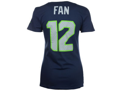 Seattle Seahawks Fan #12 Nike NFL Women's Player Pride T-Shirt