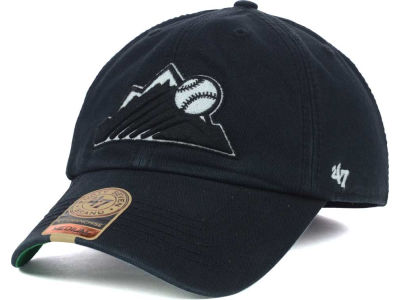 Colorado Rockies '47 MLB Black Out '47 FRANCHISE Cap