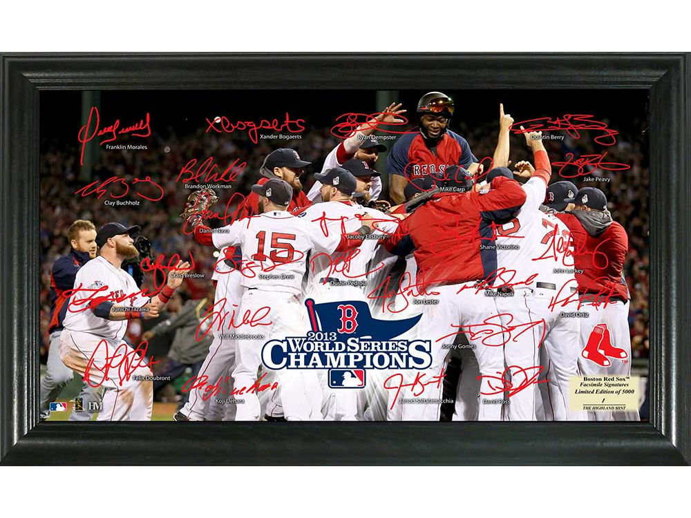 Boston Red Sox Highland Mint Photo Mint - Field Panorama - EVENT