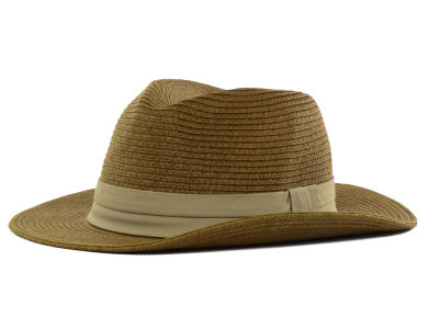 LIDS Private Label Wide Brim Straw Fedora