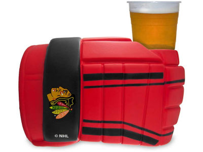 Chicago Blackhawks Game on Glove Coozie