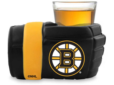 Boston Bruins Game on Glove Shot