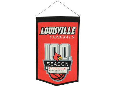 Louisville Cardinals NCAA 100th Season Banner
