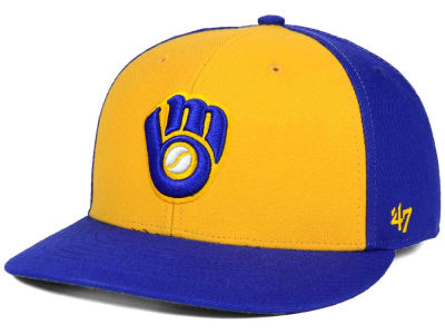 Milwaukee Brewers '47 MLB '47 MVP Cap