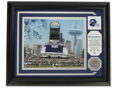 Seattle Seahawks Photo Mint Coin-Bronze