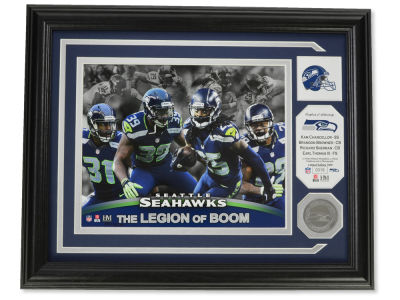 Seattle Seahawks Highland Mint Photo Mint Coin-Bronze