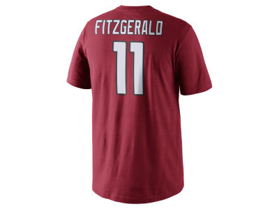 Arizona Cardinals Larry Fitzgerald Nike NFL Men's Pride Name and Number T-Shirt