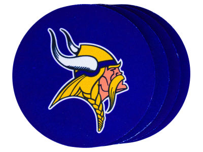 Minnesota Vikings 4-pack Neoprene Coaster Set