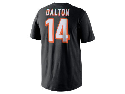 Cincinnati Bengals Andy Dalton Nike NFL Men's Pride Name and Number T-Shirt