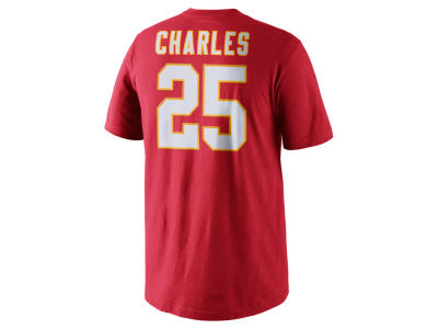 Kansas City Chiefs Jamaal Charles Nike NFL Pride Name and Number T-Shirt