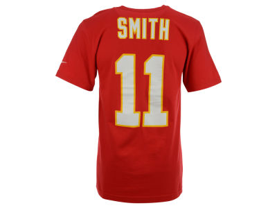Kansas City Chiefs Alex Smith Nike NFL Pride Name and Number T-Shirt