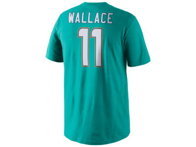 Miami Dolphins Mike Wallace Nike NFL Men's Pride Name and Number T-Shirt