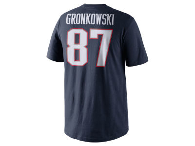 New England Patriots Rob Gronkowski Nike NFL Pride Name and Number T-Shirt