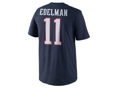 New England Patriots Julian Edelman Nike NFL Men's Pride Name and Number T-Shirt