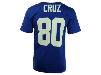 New York Giants Victor Cruz Nike NFL Men's Pride Name and Number T-Shirt