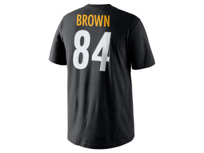 Pittsburgh Steelers Antonio Brown Nike NFL Men's Pride Name and Number T-Shirt