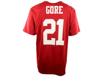 San Francisco 49ers Frank Gore Nike NFL Men's Pride Name and Number T-Shirt