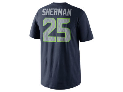 Seattle Seahawks Richard Sherman Nike NFL Pride Name and Number T-Shirt