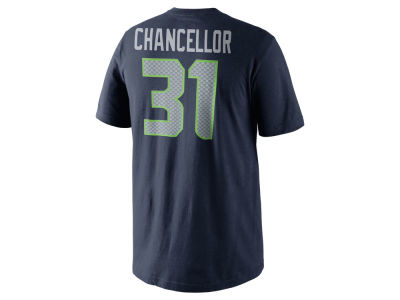 Seattle Seahawks Kam Chancellor Nike NFL Men's Pride Name and Number T-Shirt