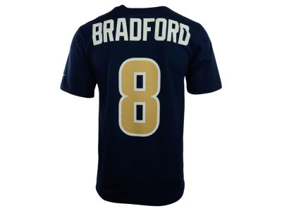 St. Louis Rams Sam Bradford Nike NFL Men's Pride Name and Number T-Shirt