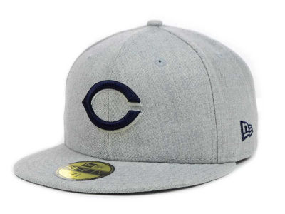 Cincinnati Reds New Era MLB Heather Basic 59FIFTY Cap
