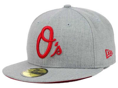 Baltimore Orioles New Era MLB Heather Basic 59FIFTY Cap