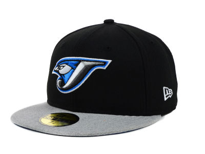 Toronto Blue Jays New Era MLB Team Heather 59FIFTY Cap