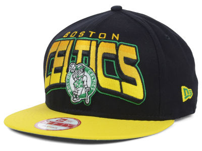Boston Celtics New Era NBA Hardwood Classics All Colors 9FIFTY Snapback Cap