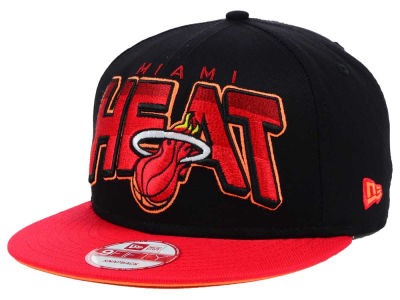 Miami Heat New Era NBA Hardwood Classics All Colors 9FIFTY Snapback Cap