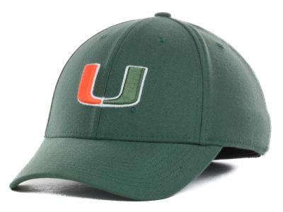 Miami Hurricanes Nike NCAA Dri-Fit Swoosh Flex Cap