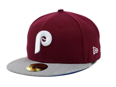 Philadelphia Phillies New Era MLB Team Heather 59FIFTY Cap