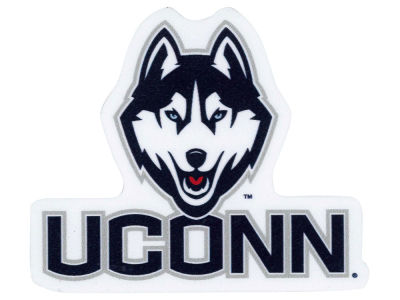 Connecticut Huskies 4x4 Die Cut Decal Color