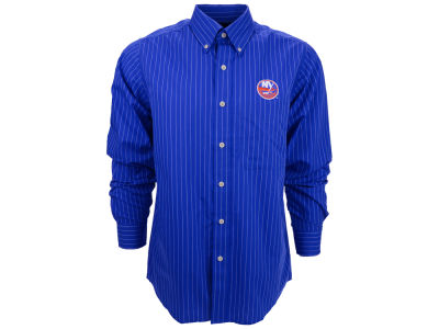 New York Islanders NHL Achieve Long Sleeve Button Down Shirt
