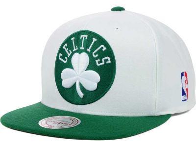 Boston Celtics Mitchell & Ness NBA XL Logo Snapback Cap