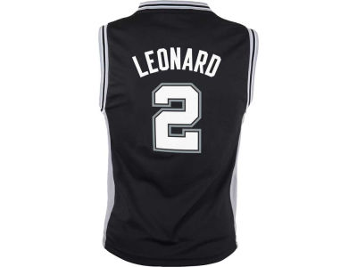 San Antonio Spurs Kawhi Leonard Youth NBA Revolution 30 Jersey