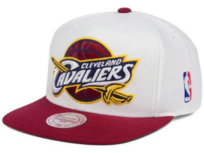 47f1aea0142 Cleveland Cavaliers Mitchell   Ness NBA XL Logo Snapback Cap